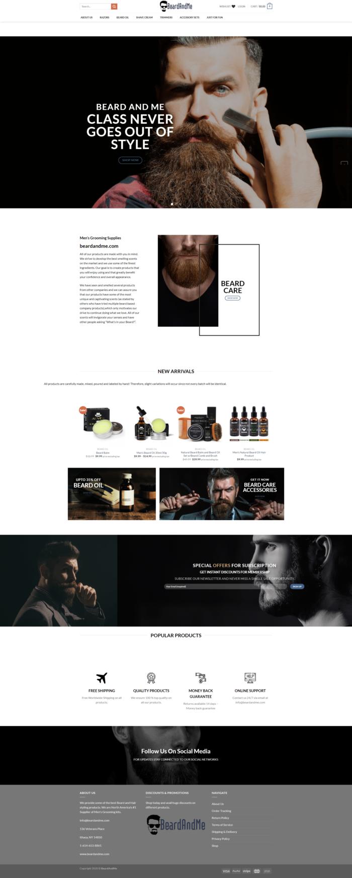 Beard And Me – Beard Care Collection