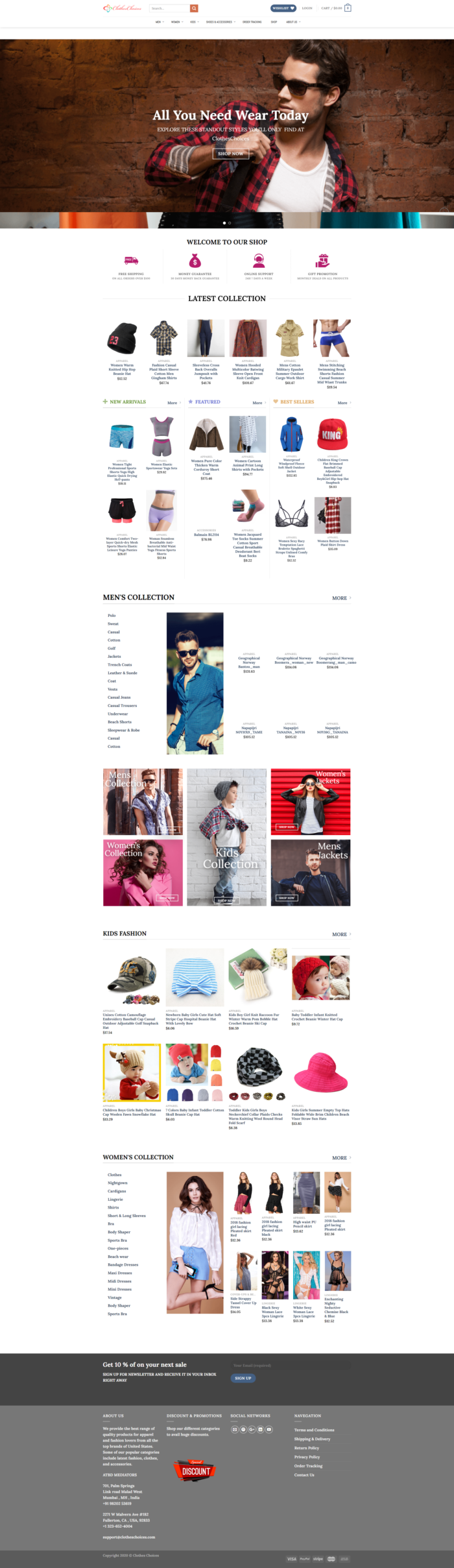 ClothesChoices – Latest Clothing Collection