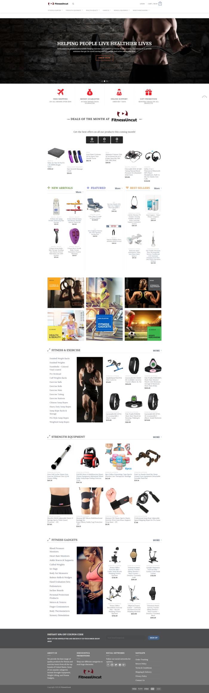 Fitness Uncut – Latest Fitness Sports Gadgets