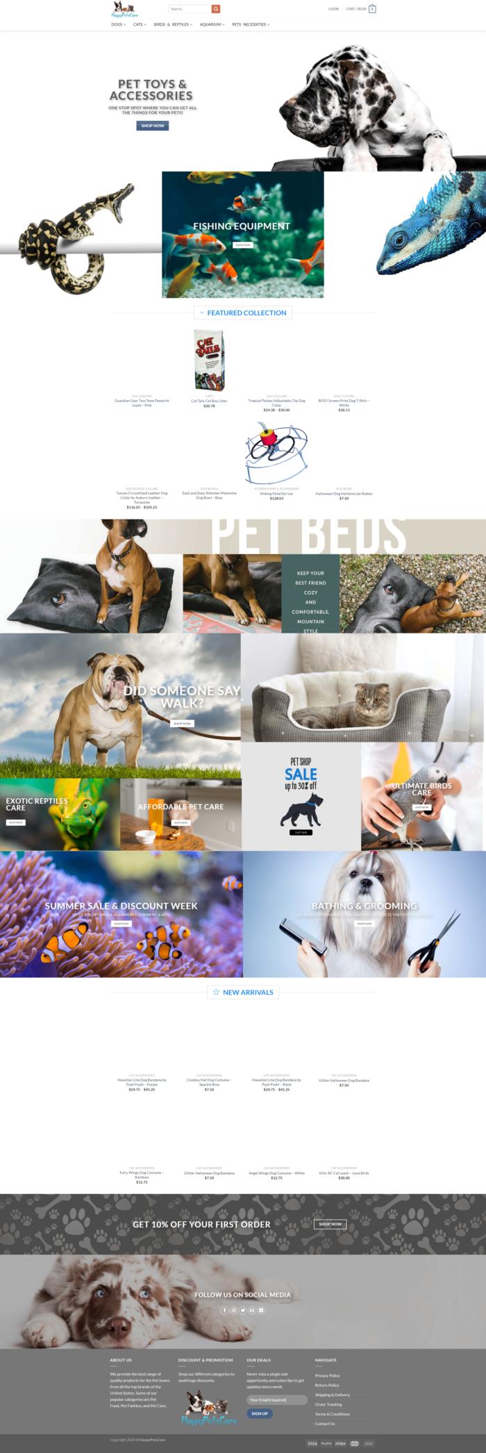 Happy Pets Care – Latest Pet Accessories