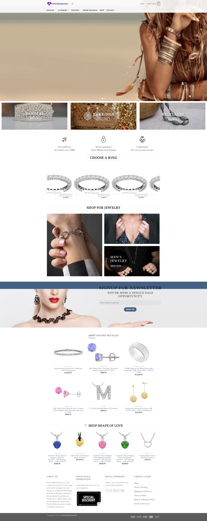 PerfectShineJewelry – Latest Jewelry Collection