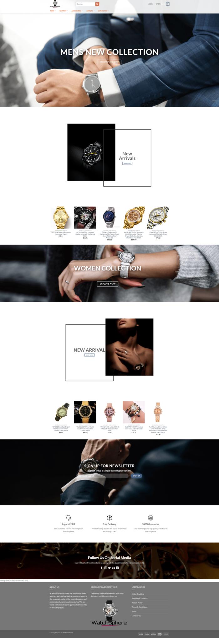 WatchSphere – Trending Watches Collecton